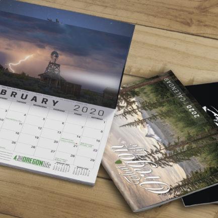 2020 oregon calendar